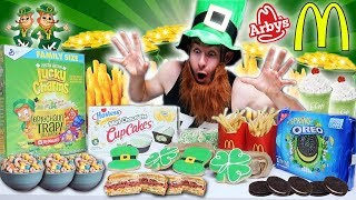 THE SAINT PATRICK'S DAY FOOD FEAST! (8,000+ CALORIES)