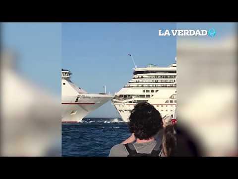 Chocan Cruceros En Cozumel