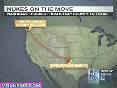 FOX-News Threatens National Security By Leaking Secret Nuclear Warhead Transport