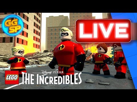 Join Rad And Teenage Boss\'s Vasanth As They Battle Through LEGO The Incredibles! | Stream