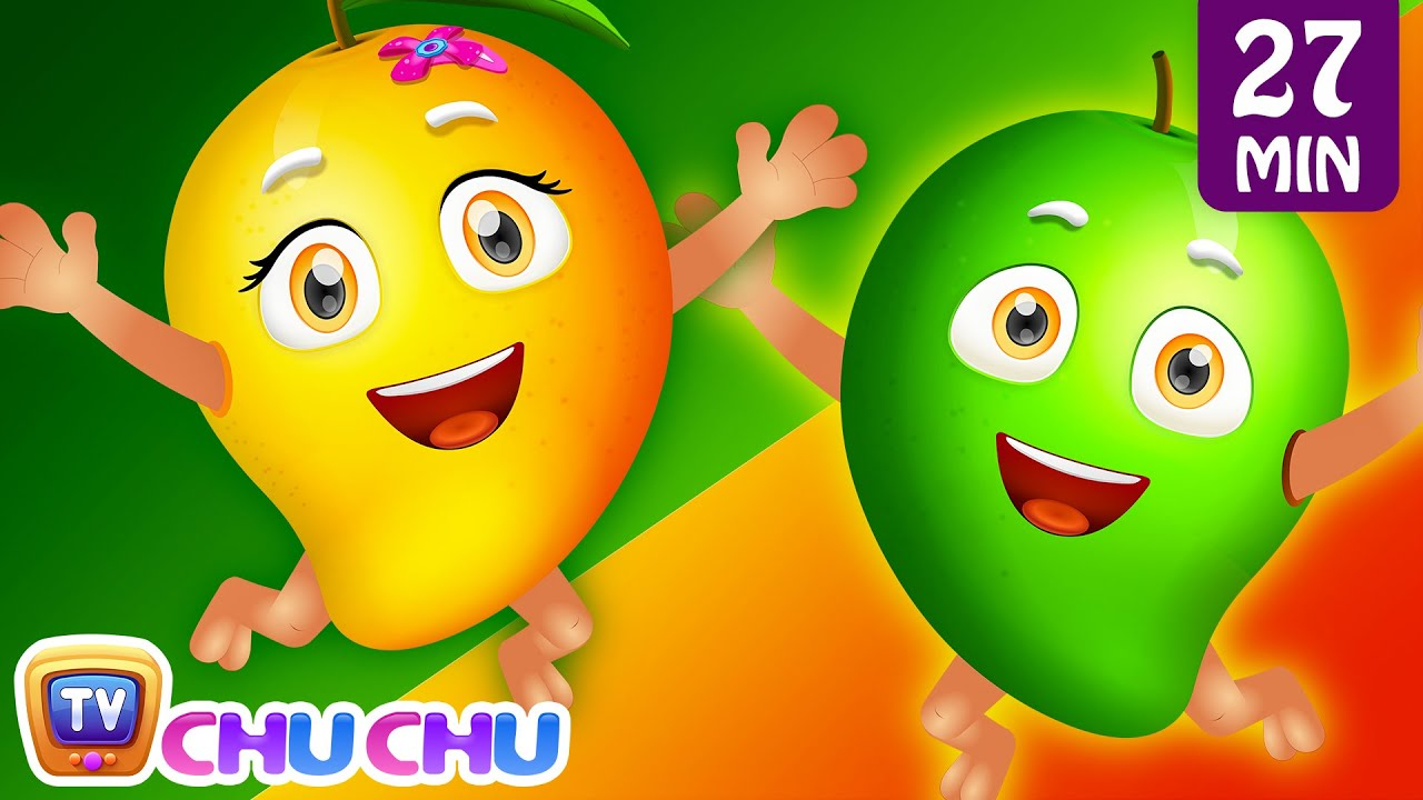 Mango Song | Learn Fruits for Kids and Many More Nursery Rhymes & Kids Songs by ChuChu TV