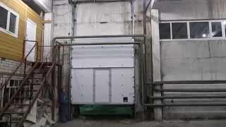 Промышленные секционные подъёмные ворота с калиткой ISD01 DOORHAN (г.Пермь)(, 2014-03-24T06:26:26.000Z)