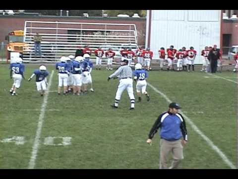 Bondurant Football 1st down completion