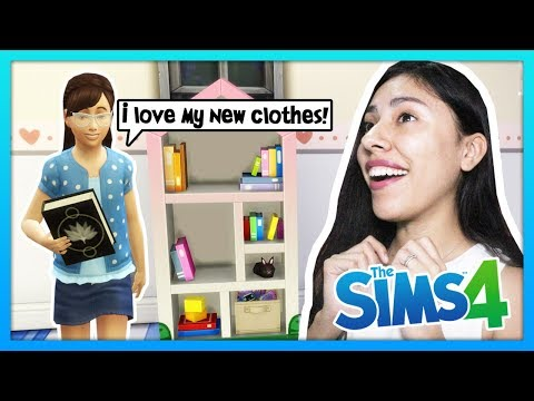 BACK TO SCHOOL SHOPPING FOR MY DAUGHTER! - The Sims 4 - My Sims Life - Ep 40 thumbnail