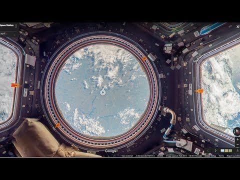 Google Street View allows you to go Inside the International Space Station (ISS) | QPT