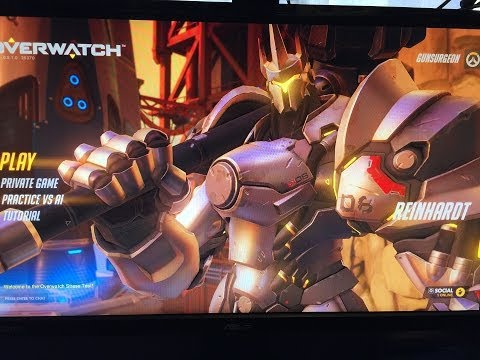 OverWatch Beta Disabled Gamer Gaming One Handed (Left)