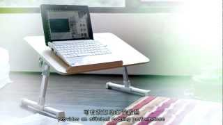 EVERCOOL YOHO Laptop Table Storage Philosophy Easy to Fold
