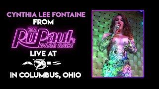 Cynthia Lee Fontaine Live @ Axis Nightclub in Columbus, Ohio
