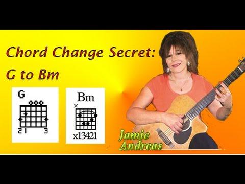 Chord Change Secret: G to Bm