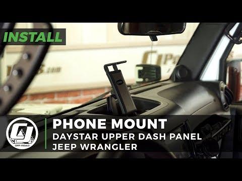 Jeep Wrangler JK Install: Daystar Upper Dash Panel