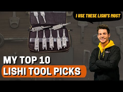 Top 10 Lishi Tools - Most Commonly Used