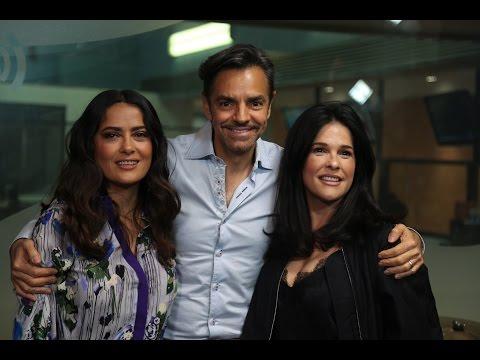 Entrevista con Eugenio Derbez y Salma Hayek