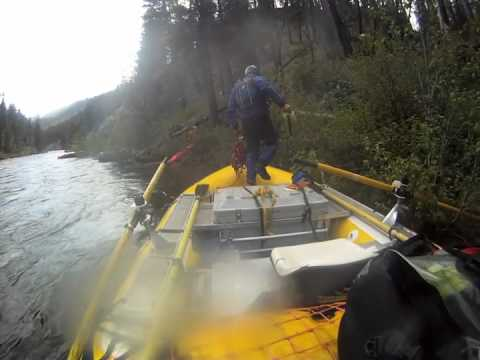 Chasing Flipped Boat Through Velvet Falls At 6.66' - Middle Fork Of The Salmon River