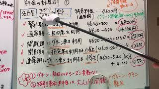 国内旅行実務JR運賃料金8