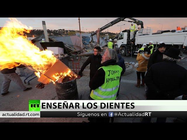 Francia, dividida por el endurecimiento de las medidas contra los chalecos amarillos