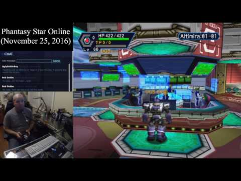 Phantasy Star Online (November 25, 2016) Sega Dreamcast Online Multiplayer [w/ Commentary]