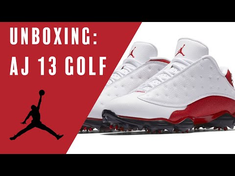 Air Jordan 13 Golf Unboxing