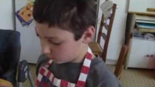 Recette pour les enfants - Gateau aux poires