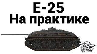 E-25 - На практике