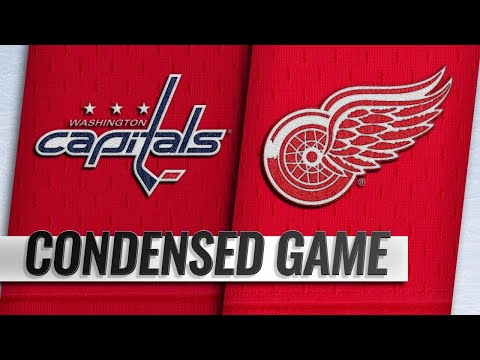 01/06/19 Condensed Game: Capitals @ Red Wings
