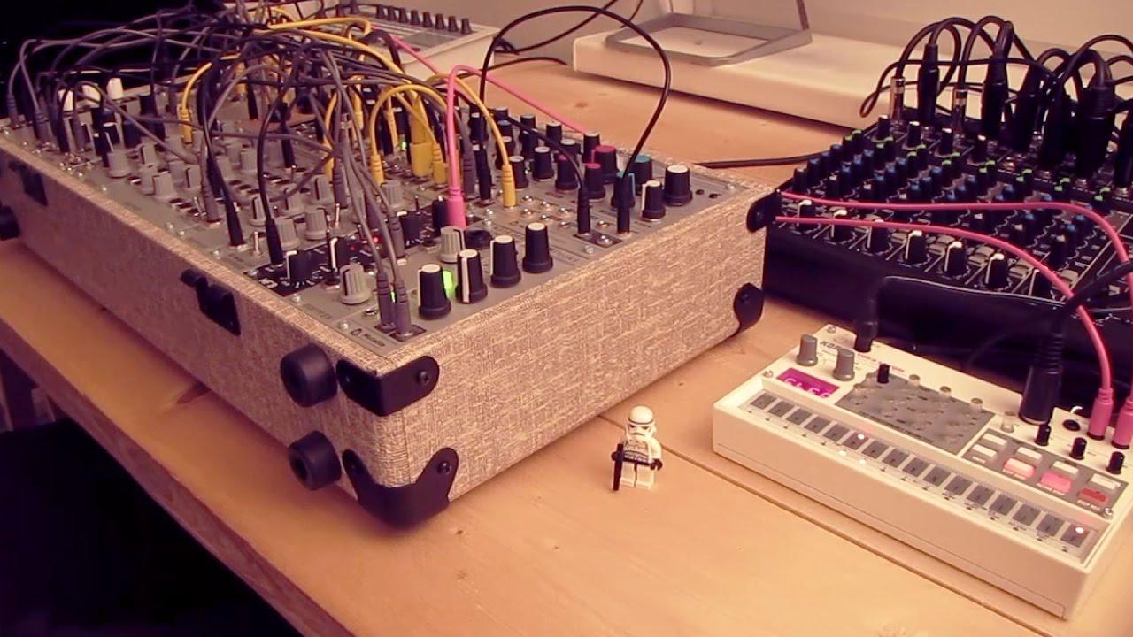 live jam 61 ambient experimental techno eurorack modular synthesizer korg volca sample. Black Bedroom Furniture Sets. Home Design Ideas