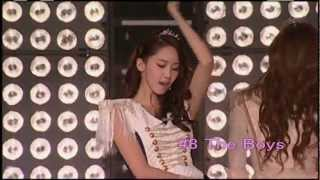 SNSD Yoona Solo Part Top10 (video)
