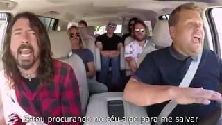 Foo Fighters em entrevista com James Corden LEGENDADO (Parte 2)