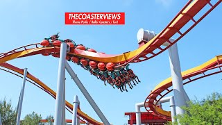 Knotts Berry Farm Silver Bullet (POV Front HD) Roller Coaster