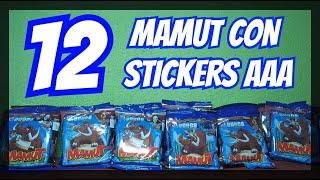 Abriendo 12 Mamut con Stikers de la AAA Rudos y Tecnicos | C-de Colecciones
