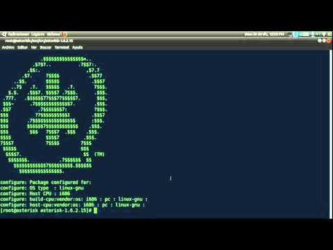 Curso de Asterisk - Ch02.3 - Compilando lipbri, dahdi y Asterisk