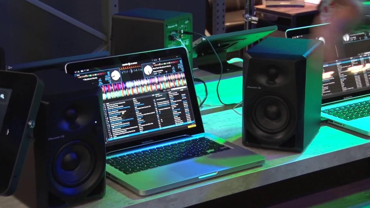 Musikmesse 2016 PIONEER DM-40 Desktop Monitor Speaker Prolight+ ...