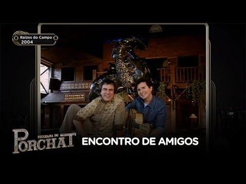 Chitãozinho & Xororó relembram o programa Raízes do Campo, da Record TV
