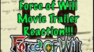 FOW Movie Trailer Reaction!