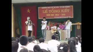 Tạm biệt nhé - Lynh Lee - Phúc Bằng- Tổng kết trường Võ Thị Sáu 25/5/2013