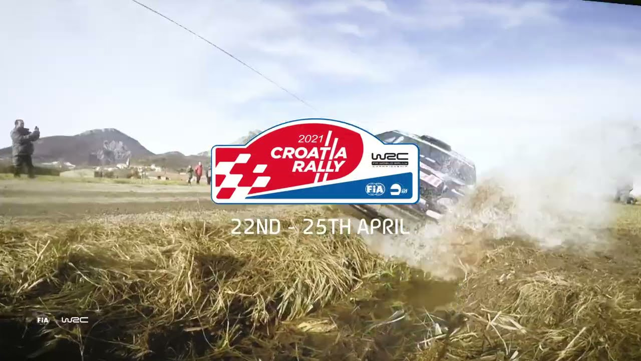 WRC Croatia Rally 2021 🇭🇷 | New Event! Watch all stages live on WRC+ 🎥