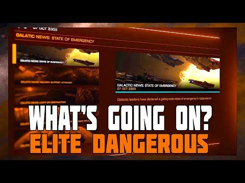 Elite Dangerous - So Who Knows What's Going On? (Ideas on fixing the lack of in-game story details)