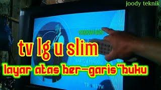 tv LG u slim layar atas bergar…
