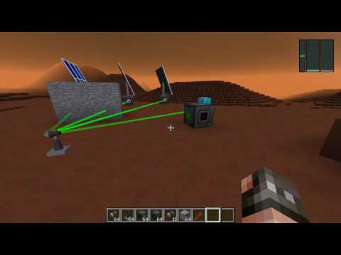видео: Передача энергии через лазеры в galacticraft 3