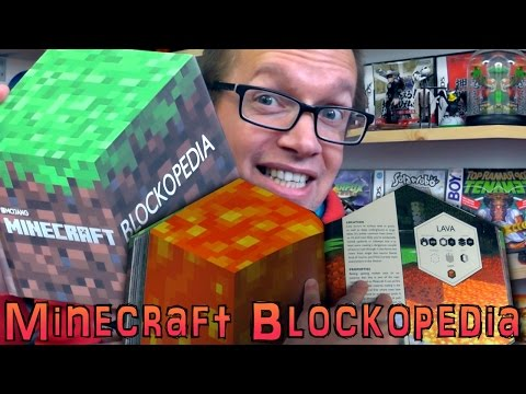 Minecraft Blockopedia Book - Full Review Of Every Page