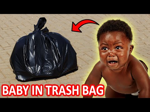 ABANDONED BABY IN TRASH BAG IN AFRICA (Social Experiment)