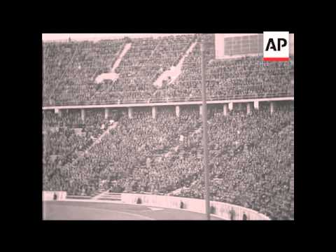 ASSOCIATION FOOTBALL - GERMANY V YUGOSLAVIA - SOUND