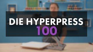 Siebdruckmaschine HYPERPRESS 100 für Siebdruck Einsteiger