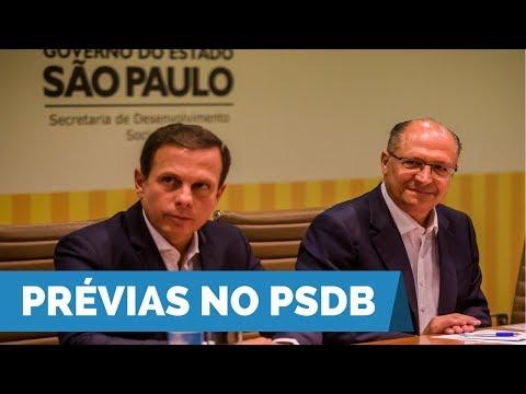 João Doria rechaça prévia com Geraldo Alckmin e fala sobre possibilidade de sair do PSDB