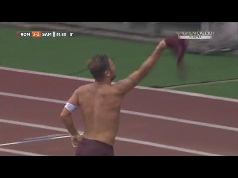 Francesco Totti Goal Vs Sampdoria (HOME) 11/09/2016 [DL LINK]