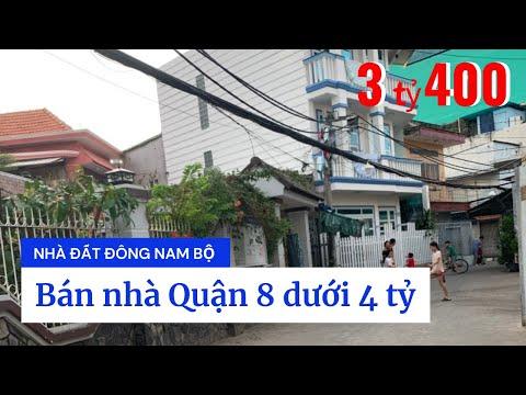 Chính chủ Bán nhà Hẻm 451 Phạm Thế Hiển phường 3 Quận 8 dưới 4 tỷ, qua Quận 5 chỉ 2 phút