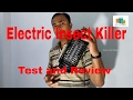 Electric Insect Killer Test and Review. Electric Trap for  Mosquito, Insect, Fly