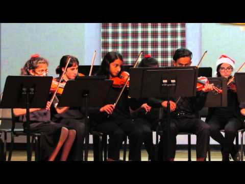 Dunedin Highland Middle School - 2015 Winter String Concert - Christmastide - Rejoice!
