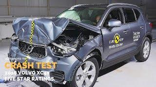 CRASH TEST | 2018 Volvo XC40 Receives Five Star.