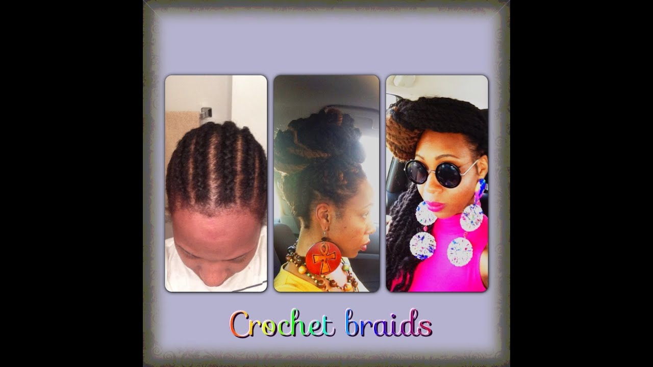 Crochet Braids Last : Havana Marley Twists with Crochet Braids (long twists) - YouTube