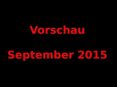JamesKnopfSelbst: Vorschau September 2015